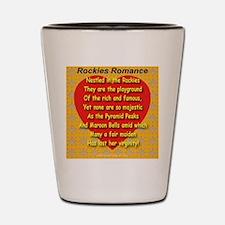 Rockies Romance Shot Glass