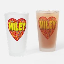 Miley Drinking Glass