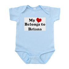 My Heart: Briana Infant Creeper