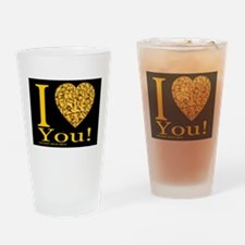 I (Heart) You Drinking Glass