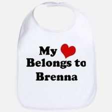 My Heart: Brenna Bib