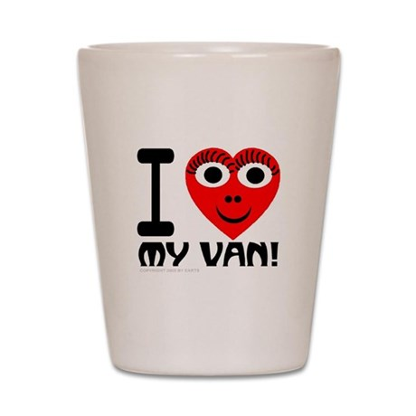 I (Heart) My Van Shot Glass