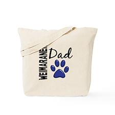 Weimaraner Dad 2 Tote Bag