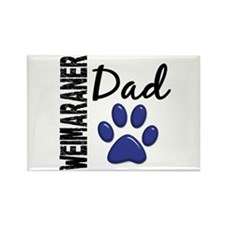 Weimaraner Dad 2 Rectangle Magnet