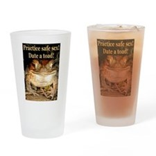 Date a toad Drinking Glass