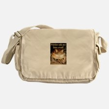 Date a toad Messenger Bag