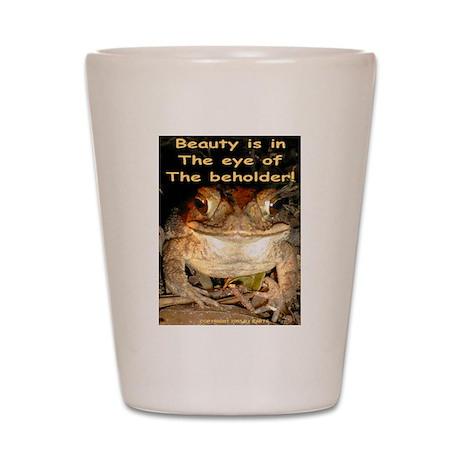 Beautiful Toad Shot Glass
