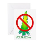 Pulpless.Com Greeting Cards (Pack of 6)