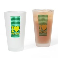I Love My Flip Drinking Glass