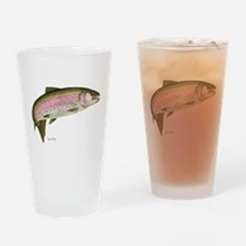 Rainbow Trout Drinking Glass