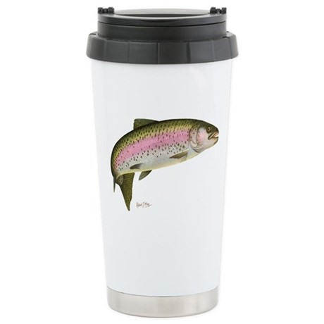 Rainbow Trout Stainless Steel Travel Mug