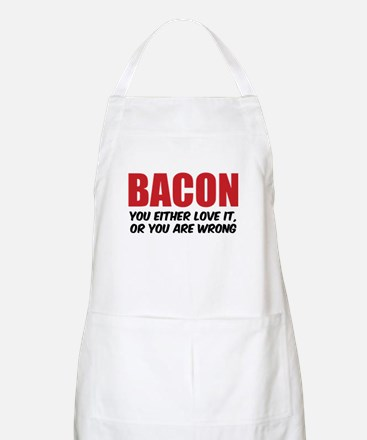 Bacon you either love it Apron