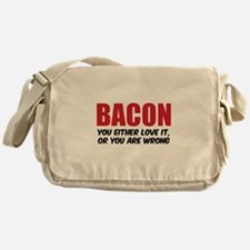 Bacon you either love it Messenger Bag
