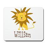 Custom Name Lion Mousepad