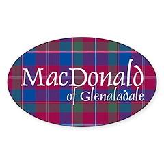 Tartan - MacDonald of Glenaladale Decal