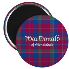 Tartan-MacDonaldGlenaladale Magnet