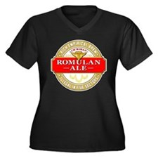 STAR TREK: Romulan Ale Women's Plus Size V-Neck Da