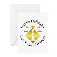 Pub Def Retreat Greeting Card