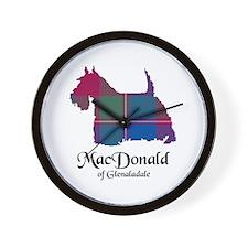 Terrier - MacDonald of Glenaladale Wall Clock