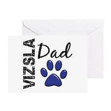 Vizsla Dad 2 Greeting Card