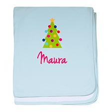 Christmas Tree Maura baby blanket