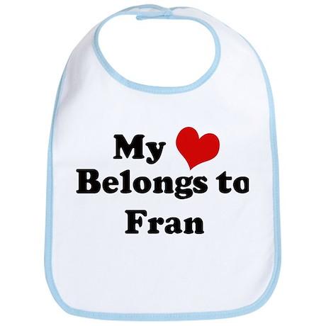 My Heart: Fran Bib