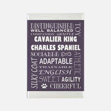 King Charles Spaniel Rectangle Magnet