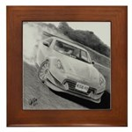 Framed Tile with drawing of 370z