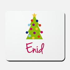 Christmas Tree Enid Mousepad