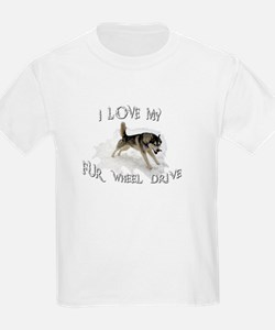 I LOVE My FUR-WHEEL Drive T-Shirt