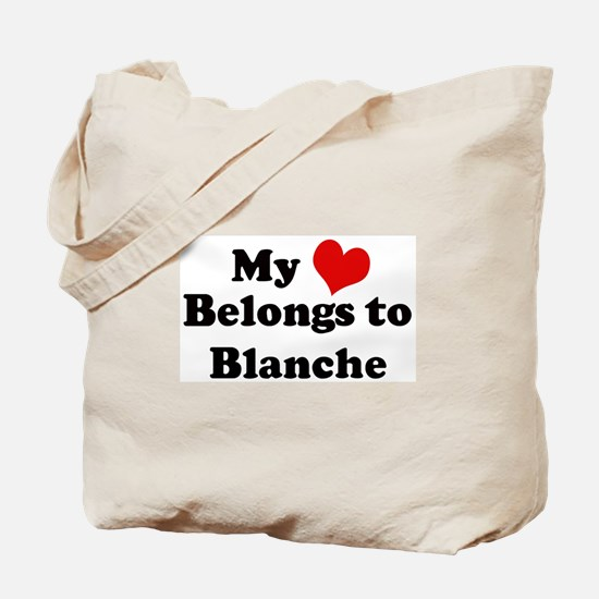 My Heart: Blanche Tote Bag
