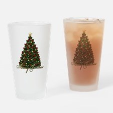 Christmas Drinking Glass
