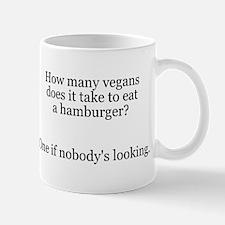 Vegans Vegetarians Hamburger Mug