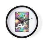 Rainbow Cadenza Wall Clock