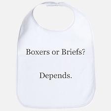 Boxers Briefs Depends Bib