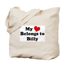 My Heart: Billy Tote Bag