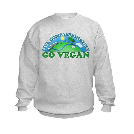 Live Compassionately Kids Sweatshirt