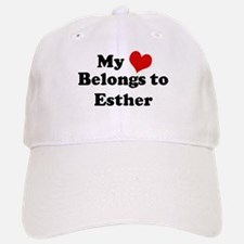 My Heart: Esther Baseball Baseball Cap