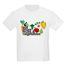Eat Fruits & Vegetables T-Shirt