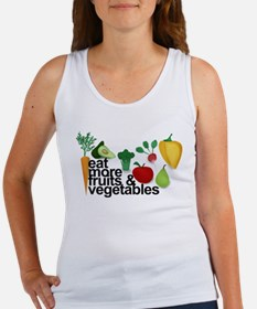 Eat Fruits & Vegetables Women's Tank Top