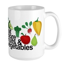 Eat Fruits & Vegetables Mug