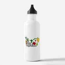 Eat Fruits & Vegetables Water Bottle