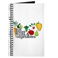 Eat Fruits & Vegetables Journal