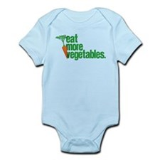 Eat More Vegetables Infant Bodysuit