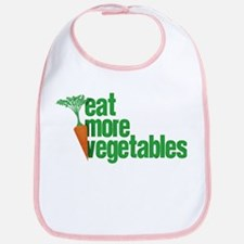 Eat More Vegetables Bib