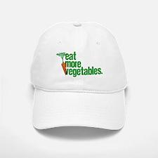 Eat More Vegetables Baseball Baseball Cap