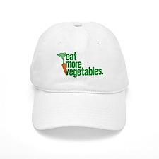 Eat More Vegetables Baseball Cap