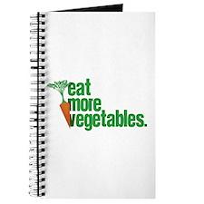 Eat More Vegetables Journal