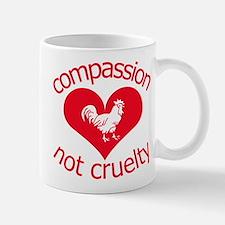 Compassion not cruelty Mug