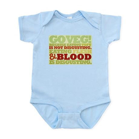 Go Veg! Infant Bodysuit